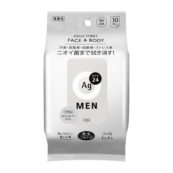 MEN´S FACE&BODY SHEET 无香型  30枚入